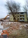 Teure Sanierung war umsonst: Die Wohnblöcke der ehemaligen Garnision in Rudisleben wurden wieder abgerissen