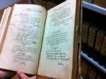 Erstes Arnstädter Bürgerbuch im Original