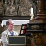 Joshua Rifkin am Cembalo in der Arnstädter Oberkirche