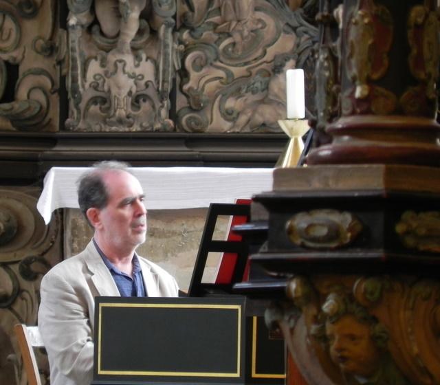 Joshua Rifkin in der Arnstädter Oberkirche