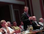 Frühere Bürgermeisterversammlung im Ilmkreis -mit Finanzminister Voß