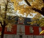 Rathaus im Herbst: Im Frühjahr 2012 zieht hier ein neuer Bürgermeister ein