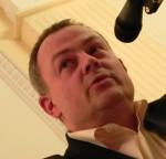 "Kriminalist Stephan Harbort beim ""Krimi-Dinner"" in Arnstadt"