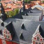 Das Rathaus von oben
