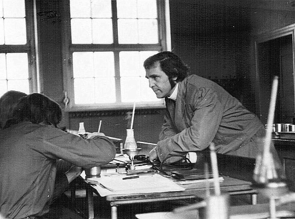 Physikunterricht bei Uwe Walther