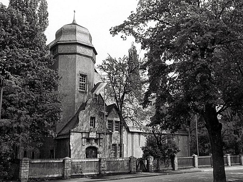 Das Lyzeum um 1912. Quelle: Schlossmuseum