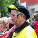 Rulemann Jahn als Stadtführer beim Brunnenfest 2011